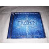 Cd Duplo  Frozen    Deluxe Edition Soudtrack   Importado
