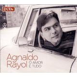 Cd Duplo Agnaldo Rayol   O Amor É Tudo