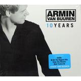 Cd Duplo Armin Van Buuren   10 Years   Lacrado   Importado