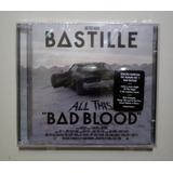 Cd Duplo Bastille   All This Bad Blood   Lacrado De Fábrica