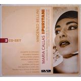 Cd Duplo Bellini I Puritani Maria Callas 1953   Novo   24bit