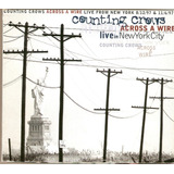 Cd Duplo Counting Crows Across A Wire   Live In New York