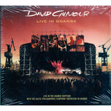 Cd Duplo David Gilmour   Live In Gdansk   Novo
