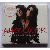 Cd Duplo Digipak Alice Cooper   Paranormal Importado Lacrado