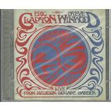 Cd Duplo Eric Clapton E Steve Winwood Live Madison Lacrado