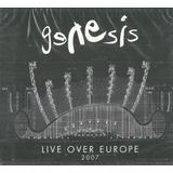 Cd Duplo Genesis Live Over Europe 2007 Com Luva Lacrado