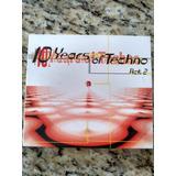 Cd Duplo Importado 10 Years Of Techno