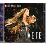 Cd Duplo Ivete Sangalo   Live Experience