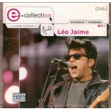 Cd Duplo Léo Jaime   E  Collection   Novo