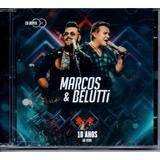 Cd Duplo Marcos E Belutti   10 Anos Ao Vivo