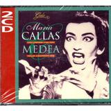 Cd Duplo Maria Callas   Medea   2cd