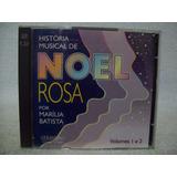 Cd Duplo Marília Batista  História Musical De Noel Rosa