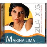Cd Duplo Marina Lima   2 Lados