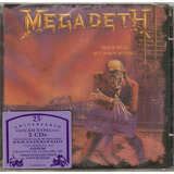 Cd Duplo Megadeth   Peace Sells    But Who s Buying?   Novo