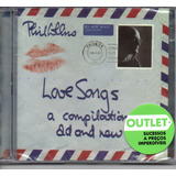 Cd Duplo Phil Collins   Love Songs   Sucessos