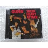 Cd Duplo Queen   Sheer Heart Attack Deluxe Importado Lacrado