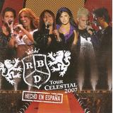 Cd Duplo Rbd   Tour Celestial 2007   Hecho En España   Usado
