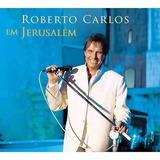 Cd Duplo Roberto Carlos   Em Jerusalem