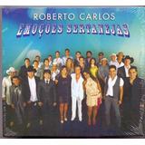 Cd Duplo Roberto Carlos   Emoções Sertanejas
