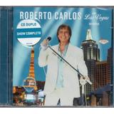 Cd Duplo Roberto Carlos Ao Vivo Em Las Vegas Novo Original