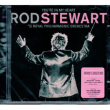 Cd Duplo Rod Stewart   With The Philharmonic Orquestra