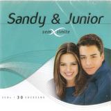 Cd Duplo Sandy E Junior   Sem Limite   30 Sucessos