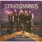 Cd Duplo Stratovarius   Under Flaming Winter Skies   Novo