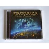 Cd Duplo Stratovarius   Visions Of Europe Importado Lacrado