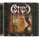 Cd Duplo Styx   The Grand Illusion Pieces Of Eight Live