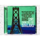 Cd Duplo Tedeschi Trucks Band Live From The Fox Oakland 2cds