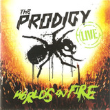 Cd Duplo The Prodigy   Worlds On Fire   Importado   Novo