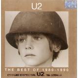 Cd Duplo U2   The Best Of 1980 1990   Edição Especial   Semi