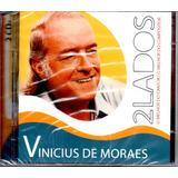 Cd Duplo Vinicius De Moraes   2 Lados