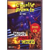 Cd + Dvd Charlie Brown Jr Música Popular Caiçara Lacrado