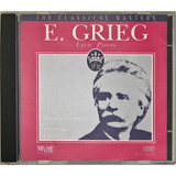 Cd E Grieg Lyric Pieces The Classical Masters   D1