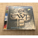 Cd Earth Wind And Fire Greatest Hits Live Impecável Usado 5
