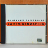 Cd Earth Wind And Fire Os Grandes Sucessos   Excelente