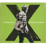 Cd Ed Sheeran   Wembley Edition   Com Luva   Novo