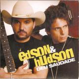 Cd Edson E Hudson   Deu Saudade