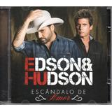 Cd Edson E Hudson   Escândalo De Amor