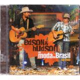 Cd Edson E Hudson Na Moda Do Brasil Ao Vivo Original