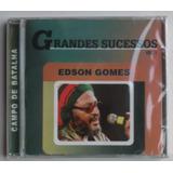 Cd Edson Gomes Grandes Sucessos Vol 1 Campode Batalha Raro