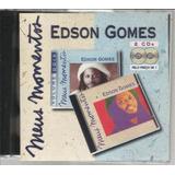 Cd Edson Gomes Série Meus Momentos Dois Cds
