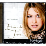 Cd Elaine De Jesus   Sala Do Trono   Playback