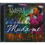 Cd Elaine Martins Muda me Ao Vivo Bl73