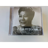 Cd Ella Fitzgerald   Love Songs   Série Icon   Tir ac lacrad