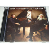 Cd Elton John   Leon Russell   The Union  lacrado De Fabrica