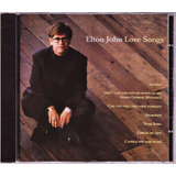 Cd Elton John   Love Songs