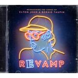 Cd Elton John E Bernie Taupin   Revamp