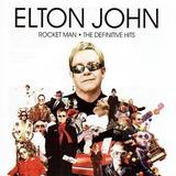 Cd Elton John Rocket Man   The Definitive Hits Novo Lacrado